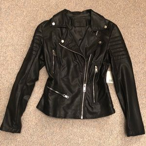 NWT Blank NYC faux leather jacket